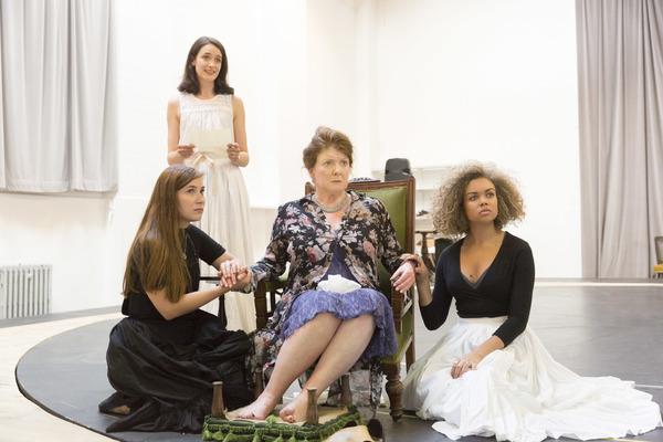 Mari Izzard, Francesca Bailey, Felicity Montagu and Hollie Edwin