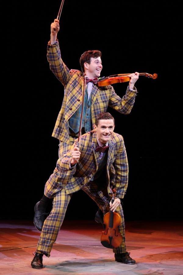 Sean McGibbon and Mark Evans Photo
