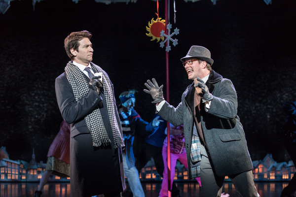 Andy Karl and Andrew Langtree