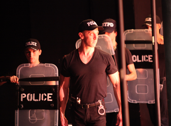 Zuccotti Park At Fringe Festival, directed by Luis Salgado Photo