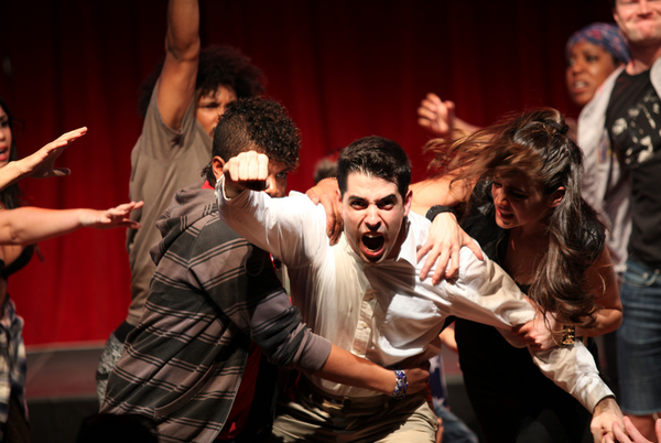 EXCLUSIVE FIRST LOOK: ZUCCOTTI PARK Opening at The New York International Fringe Festival
