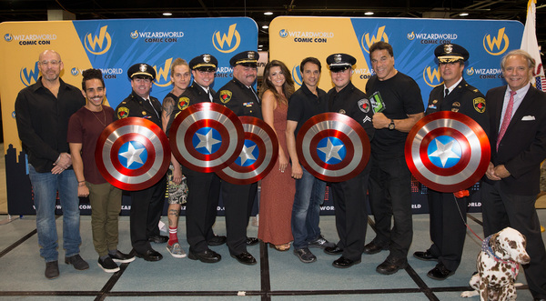 Photo Flash: Wizard World Honors Rosemont Public Safety Department