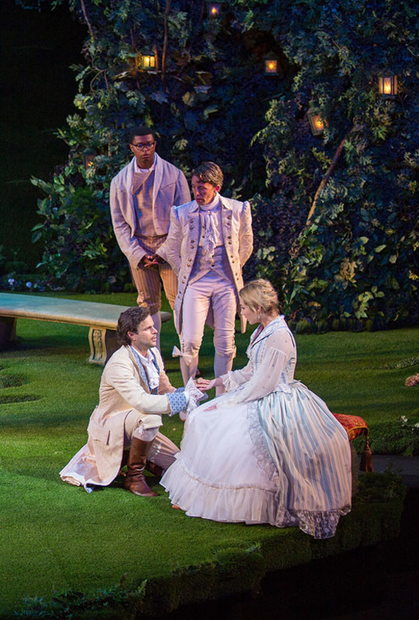 Photos: First Look at Kieran Campion, Pascale Armand and More in LOVE'S LABOR'S LOST at The Old Globe