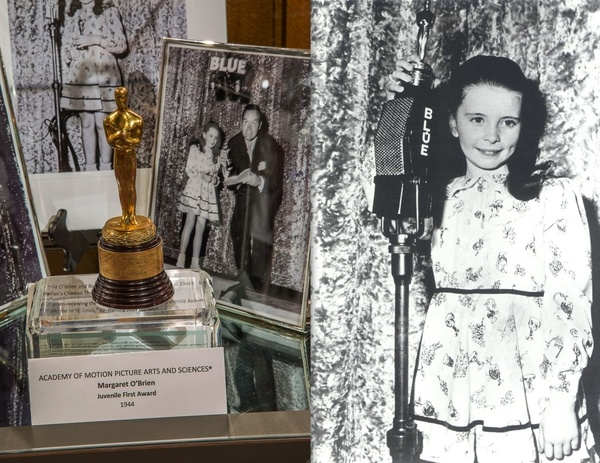 Margaret O'Brien's Junior Academy Award. Photo