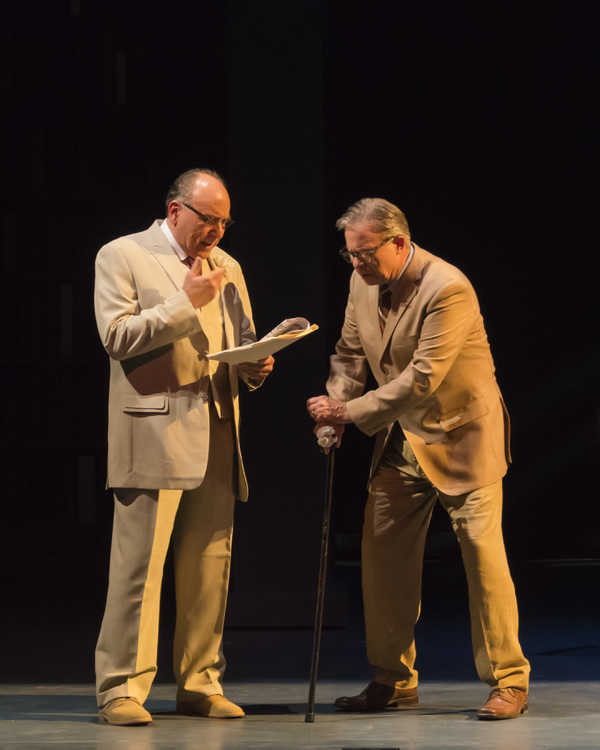 """A scene from the Midwest Premiere of Kenneth Jones' �""""Alabama Story"""" at Pe Photo"""