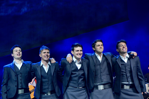 Michael O'Dwyer Neil Byrne, Emmet Cahill, Damian McGinty and Ryan Kelly