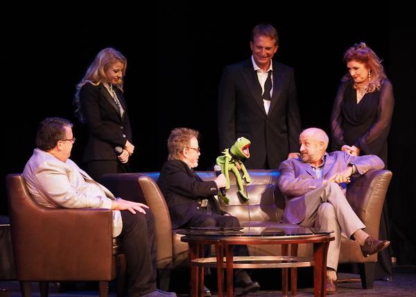 David Bossert, Carly Bracco, Paul Williams, Kermit The Frog, Rex Smith, Roy P. Disney, and Morgan Brittany