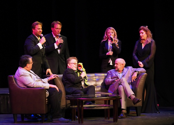 David Bossert, James C. Mulligan, Rex Smith, Paul Williams, Kermit The Frog, Carly Bracco, Roy P. Disney, and Morgan Brittany