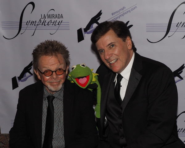 Paul Williams, Kermit The Frog, and Paul Boland