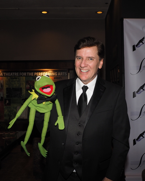Kermit The Frog and Paul Boland