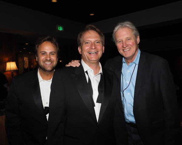 James C. Mulligan, Rex Smith, and Bruce Boxleitner