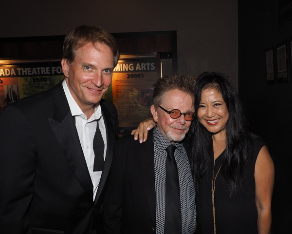 Rex Smith, Paul Williams, and Tracy Lin