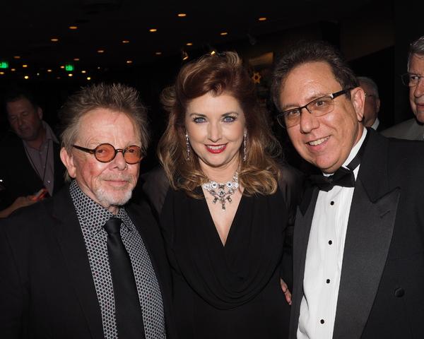 Paul Williams, Morgan Brittany, and Richard Allen Photo