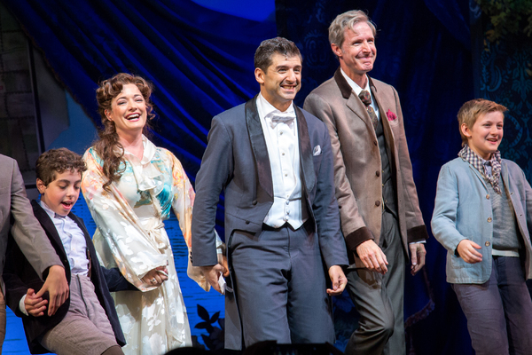 Alex Dreier, Laura Michelle Kelly, Tony Yazbeck, Paul Slade Smith, Christopher Paul Richards