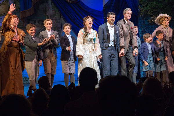 Carolee Carmello, Eli Tokash, Jackson Demott Hill, Alex Dreier, Laura Michelle Kelly, Tony Yazbeck, Paul Slade Smith, Christopher Paul Jackson, Jack McCarthy, Christian Michael Camporin, Dana Costello