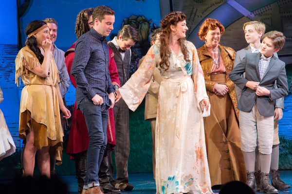Photo Coverage: FINDING NEVERLAND Takes Final Bows Before Flying Away on Tour!