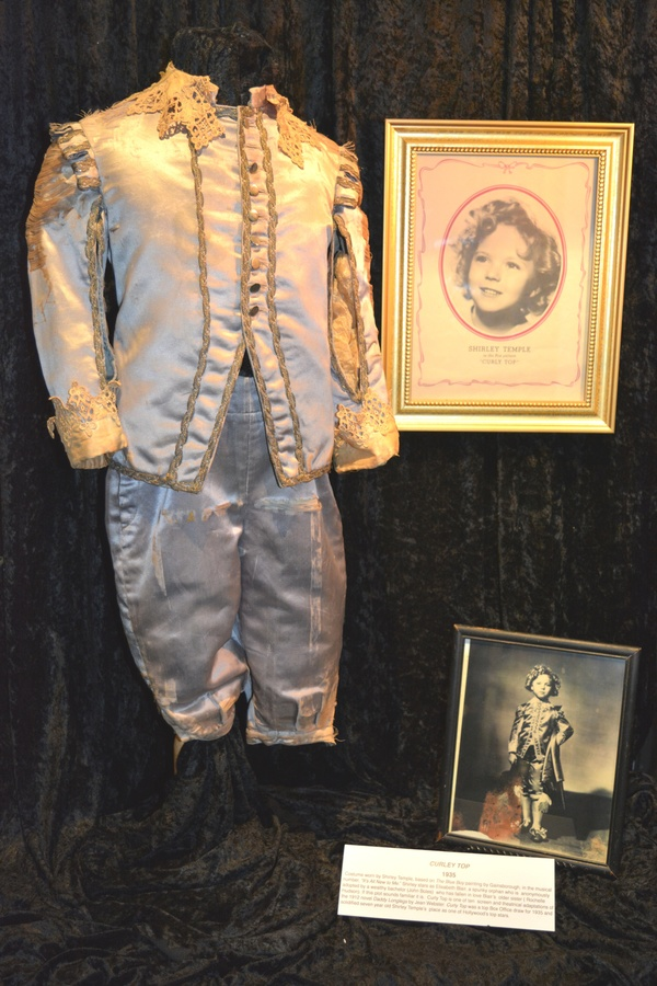 "Shirley Temple's costume from ""Curly Top"""
