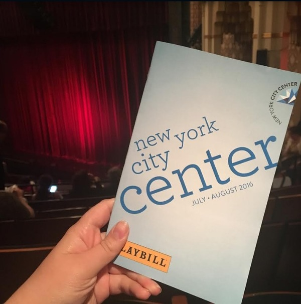 I attended NY City Center's Off-Center Jamboree! starring Jonathan Groff and Sutton Foster this summer for only $25 as a member of NY City Center's Peer-to-Peer program.