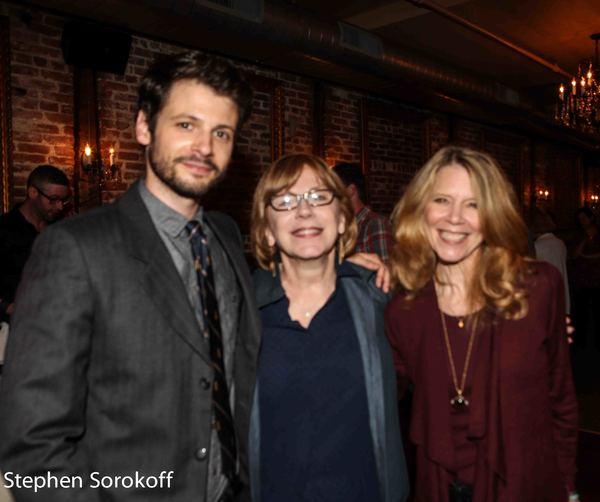 Miles G. Jackson, Julianne Boyd, Candace Broecker Photo