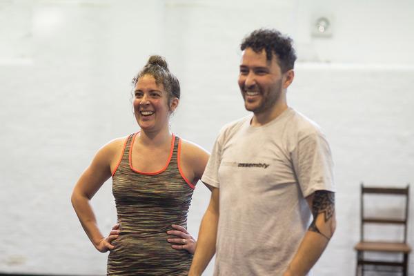Natalie Casey and Richard Mylan