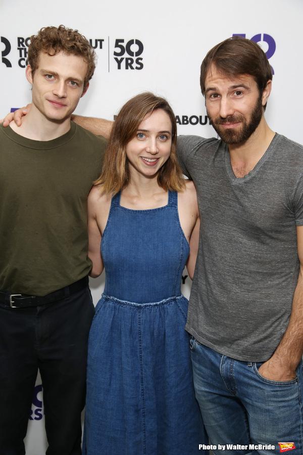 Ben Rosenfield, Zoe Kazan, and Alex Hurt