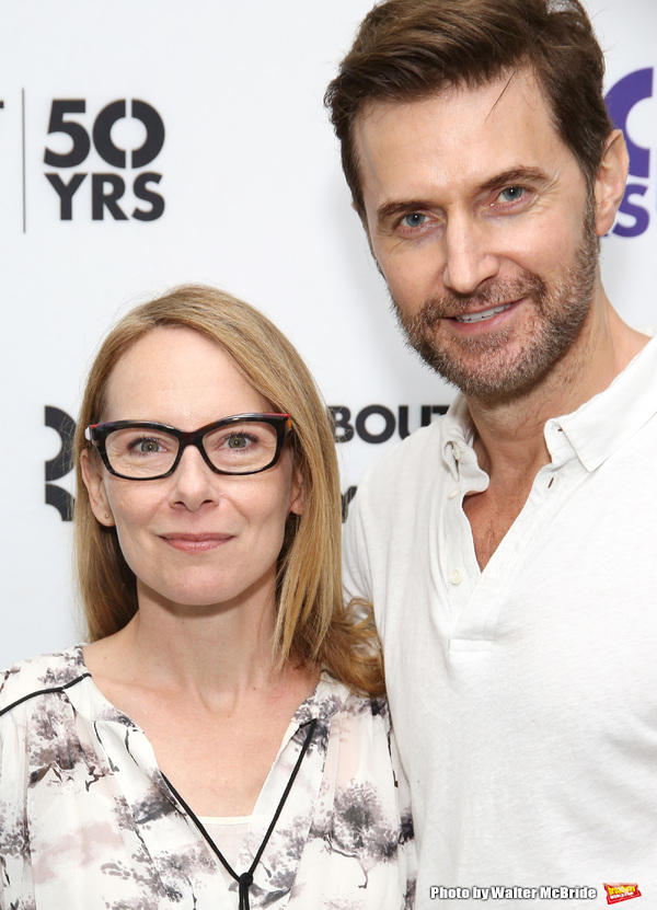 Amy Ryan and Richard Armitage