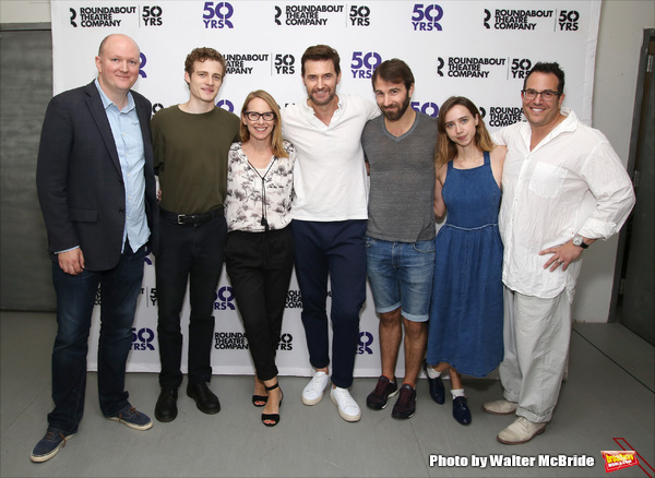 Mike Bartlett, Ben Rosenfield, Amy Ryan, Richard Armitage, Alex Hurt, Zoe Kazan and Michael Mayer