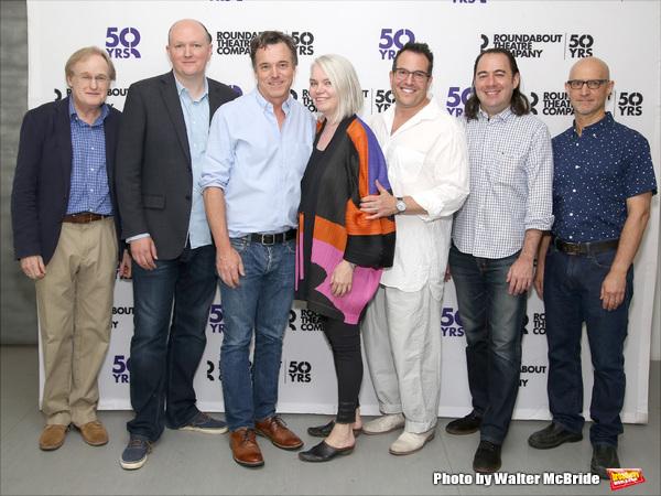 Stephen Gabis, Mike Bartlett, Derek McLane, Susan Hilferty, Michael Mayer, Kai Harada, and David Lander