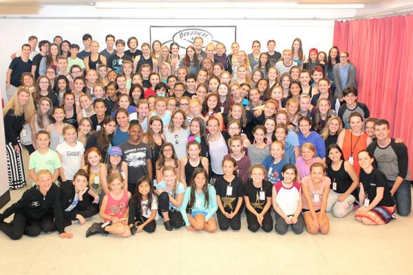 Photo Flash: WAITRESS Star Jessie Mueller Mentors Kids at Broadway Artists Alliance