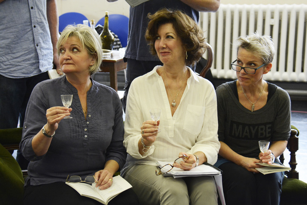 Kate Anthony, Geraldine Fitzgerald and Sue Devaney