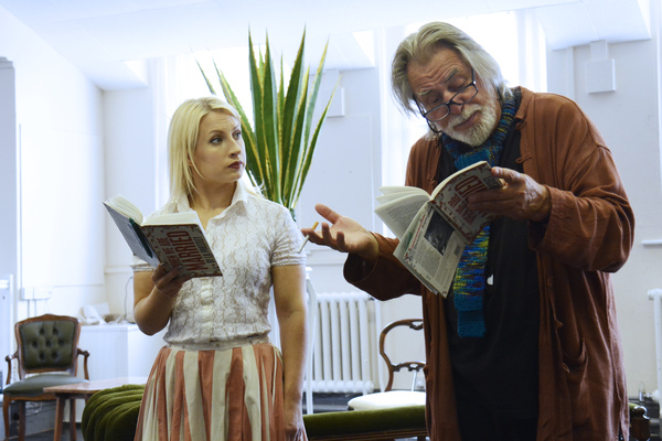 Kat Louise-Martin and Barrie Rutter