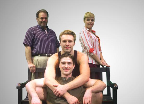 Randy Pearlman, Lindsay Hayward, Blake Lee and Michael Brannian Photo