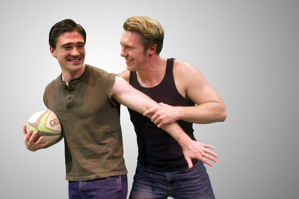 Michael Brannian and Blake Lee Photo