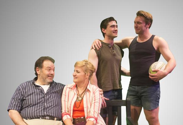 Randy Pearlman, Lindsay Hayward, Michael Brannian and Blake Lee Photo