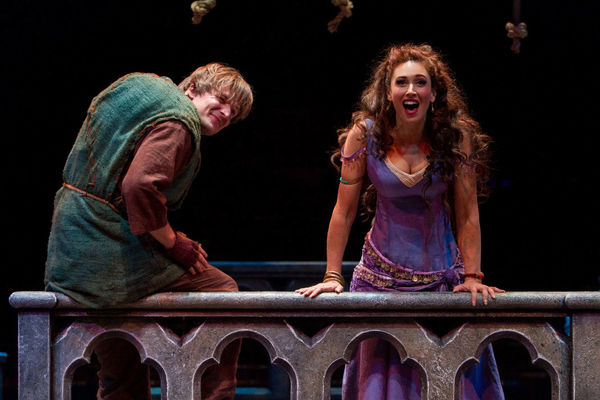 Photo Flash: First Look at Deaf Actor John McGinty, Lesli Margherita, Mark Jacoby and More in HUNCHBACK at Music Circus