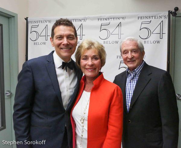 Michael Feinstein, Judge Judy Sheindlin, Jerry Sheindlin