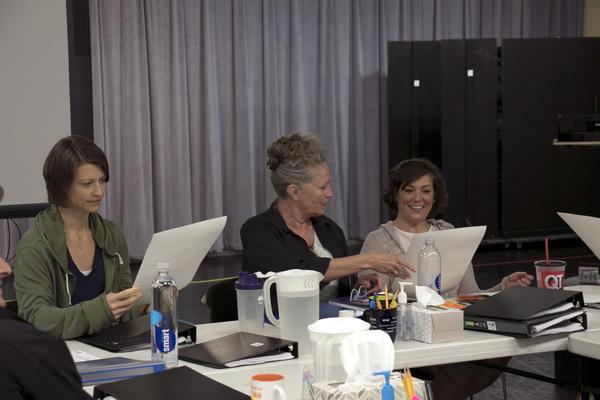 Julie Jesneck, Megan McFarland, and Wendy Melkonian