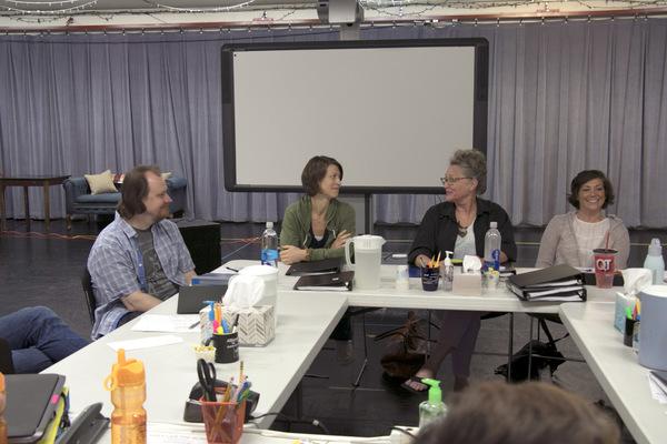Hugh Adams, Julie Jesneck, Megan McFarland, and Wendy Melkonian