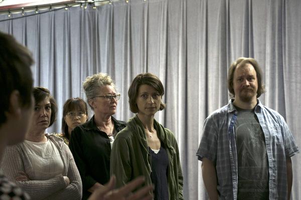 Wendy Melkonian, Megan McFarland, Julie Jesneck, and Hugh Adams