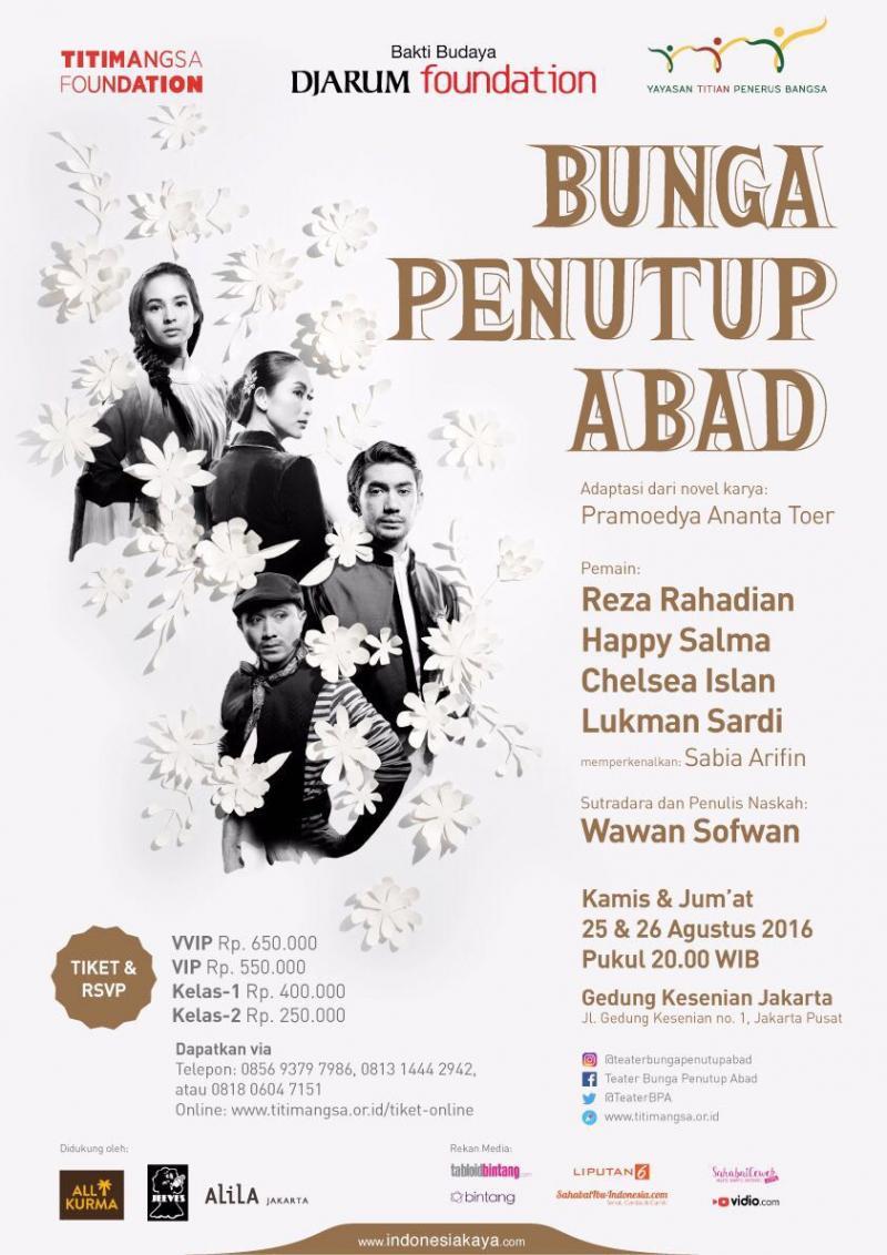BWW Review: BUNGA PENUTUP ABAD at Jakarta Art Building