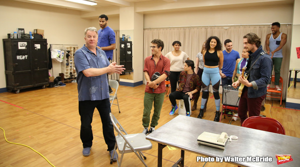 Director Evan Ensign and cast  Photo