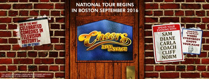 CHEERS LIVE ON STAGE Tour to Launch in Boston Next Month; Dates Announced!
