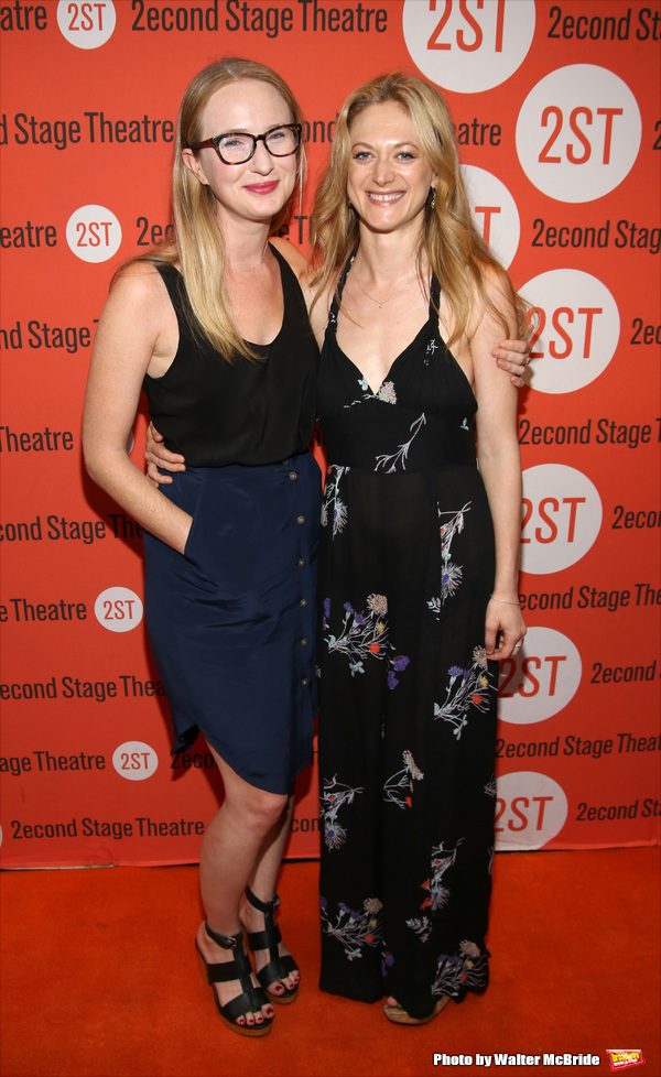 Halley Feiffer and Marin Ireland