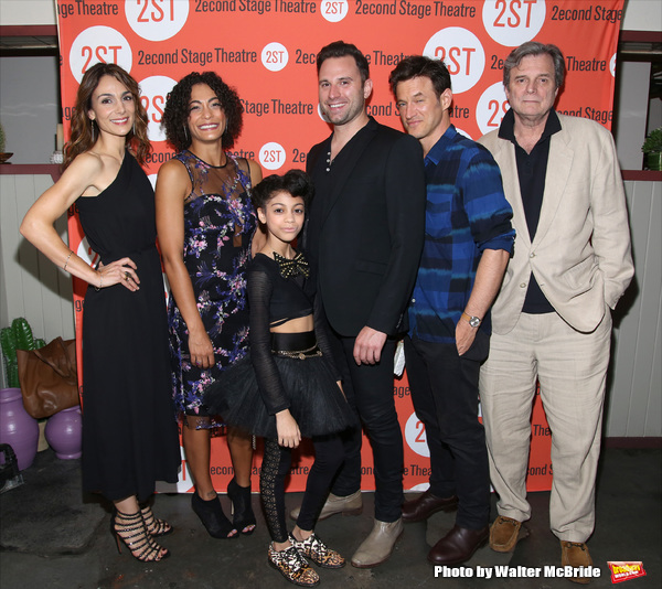 Annie Parisse, Amelia Workman, Arica Himmel, Quincy Dunn-Baker, Adam Rothenberg and John Procaccino