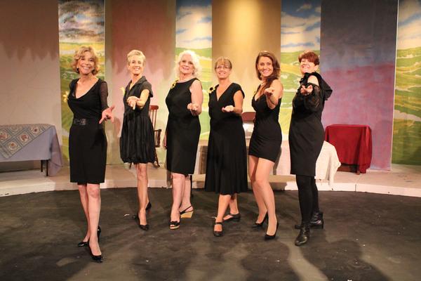 Michele Bernath, Lauren Peterson, Cheryl Crosland, Julie Davis, Vesna Tolomanoska, and LizAnne Kiegley