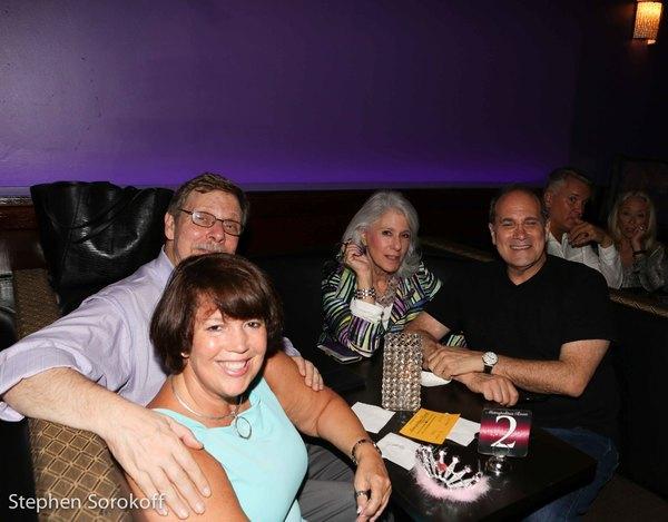 Sandra McFarland, Barry Kleinbort, Jamie deRoy, Dan Shaheen Photo