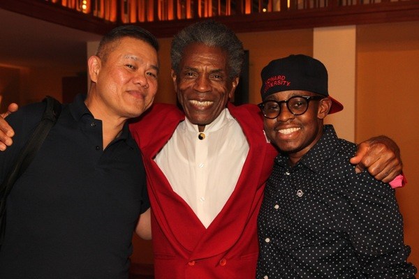 Chay Yew, Andre De Shields, and Samuel G. Roberson Jr.