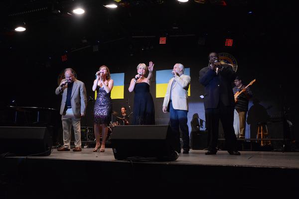 Craig Schulman, Rita Harvey, Carter Calvert, Danny Zolli and Roosevelt Andre Credit Photo