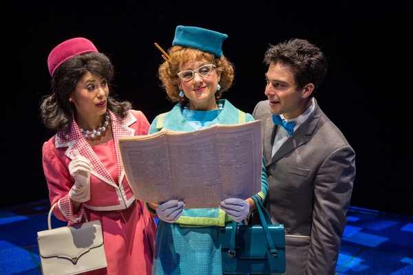 Photo Flash: First Look at Ari Butler, Jessica Naimy and More in 'HOW TO SUCCEED...' at The Marriott Theatre