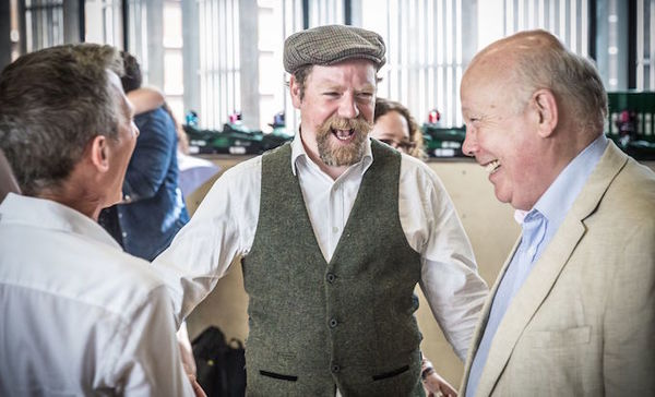 Rufus Hound and Julian Fellowes